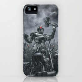 Once More Unto The Breach iPhone Case