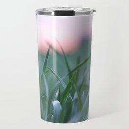 Nature on fields Travel Mug