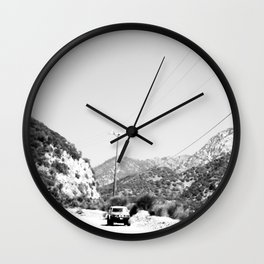Turn Out Contrast Wall Clock