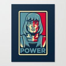 Power....he has it! Canvas Print