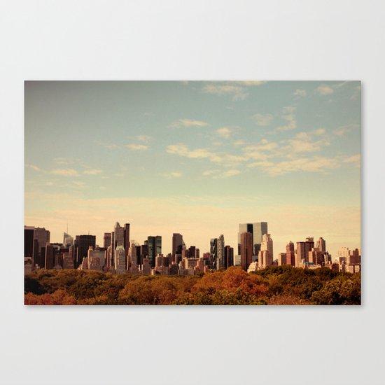 Skyline #1  Canvas Print