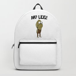 Fred The Fish My Leg! Backpack
