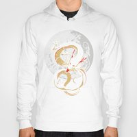 dragon ball Hoodies featuring Black Dragon by TxzDesign