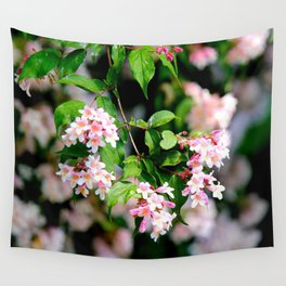 Spring Into Action Wall Tapestry