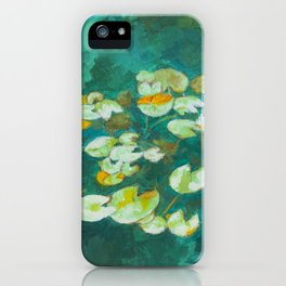 Serene Lotus Pond iPhone Case