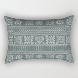 Knitted christmas pattern Rectangular Pillow