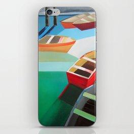 Five Boats iPhone Skin