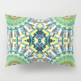 Wheels of Fortune Pillow Sham