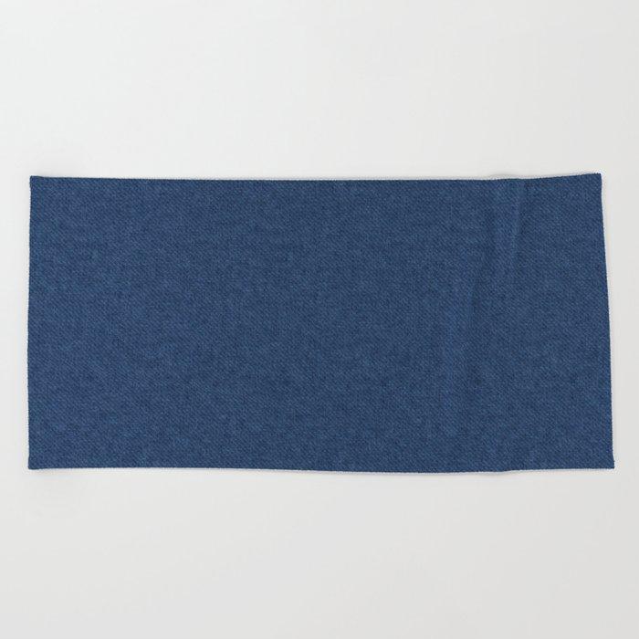 Denim Beach Towel