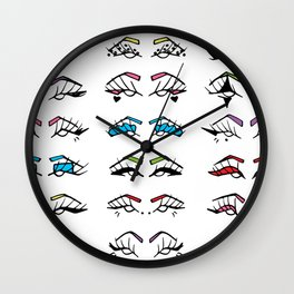 Liner Color Wall Clock