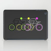 posters iPad Cases featuring Olympic Posters - Cycle  by Samar
