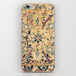 Kermina  Suzani  Antique Uzbekistan Embroidery iPhone Skin