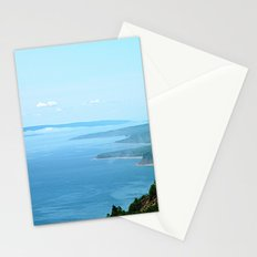 Cloud Puffs on the Blue Horizon Stationery Cards