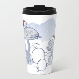 Happy Hoth-idays! Travel Mug