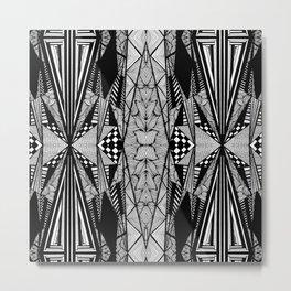 Zentangle #5 Metal Print