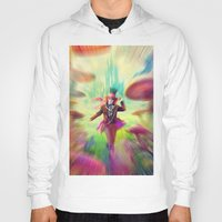 mad hatter Hoodies featuring Mad Hatter by dreamshade