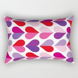 Love and Kisses in Ultra Violet Rectangular Pillow