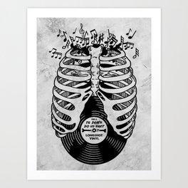 Til Death do us part. (v1) Art Print