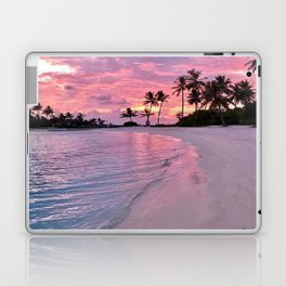 SUNSET AND PALM TREES Laptop & iPad Skin
