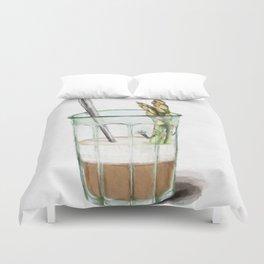 La Cuisine Fusion - Aspargus Latte Duvet Cover