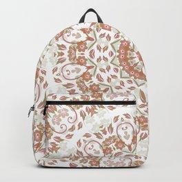 Ombre Floral Mandala Backpack
