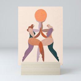 Soul sisters Mini Art Print