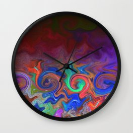 Tuesday Morning Leftovers Wall Clock