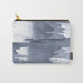 Gray drips Carry-All Pouch