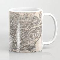 rome Mugs featuring Rome  by Le petit Archiviste