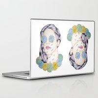 ellie goulding Laptop & iPad Skins featuring ELLIE GOULDING  by Aidan Reece Cawrey