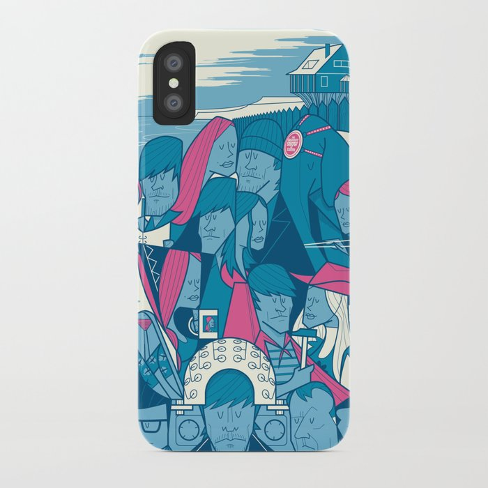 Lacuna iPhone Case