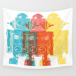 Blip Blop Bleep Wall Tapestry