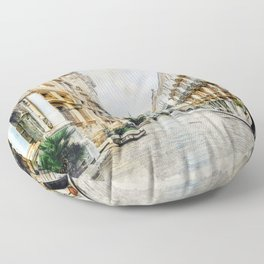 Trapani art 1 Floor Pillow