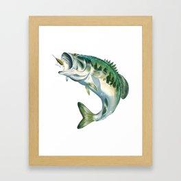 Largemouth Bass #1 Framed Art Print