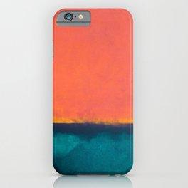 Rothko Inspired V iPhone Case