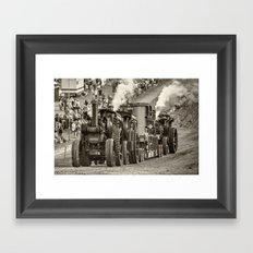 Traction Power Framed Art Print