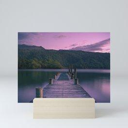 Lake Sunset Mini Art Print