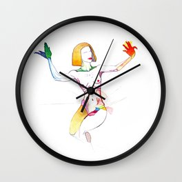 Sia Furler, the singer, NYC Artist Wall Clock