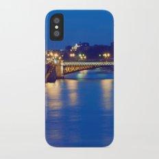Paris by Night I iPhone X Slim Case