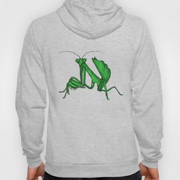 Priscilla the praying mantis Hoody