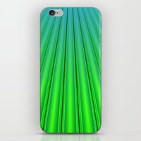 pocket fuel iPhone & iPod Skins featuring Fuel Rods by Lyle Hatch