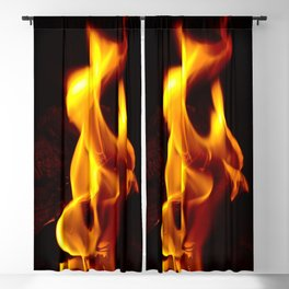 Flames of Love Blackout Curtain