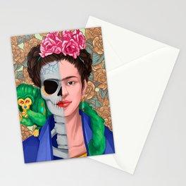 Frida Skull Stationery Cards