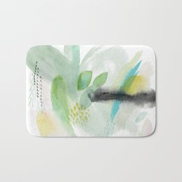 Summer Air Abstract Bath Mat