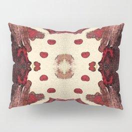 red symmetry Pillow Sham
