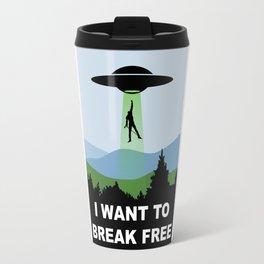 I Want to Break Free- Freddie Returns to Mercury Travel Mug
