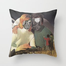 Complacency Revisited  Throw Pillow