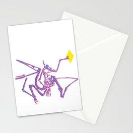 Jurassic Park Dinosaur Skeleton  Stationery Cards