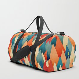 070 – deep into the autumn forest texture I Duffle Bag