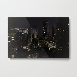 Glass City Metal Print
